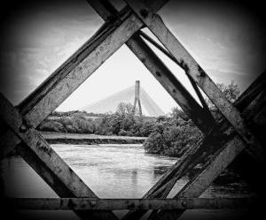 New Bridge through Old © Angela Herlihy